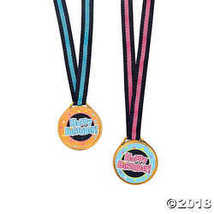 Happy Birthday Medals - $6.36