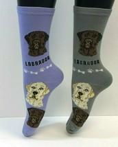 2 PAIRS Foozys Women's Socks LAB / LABRADOR, Canine Collection, Dog Prin... - $8.99