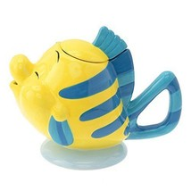 Disney Store Japan Limited Flander Teapot Little Mermaid Character Goods - $88.11