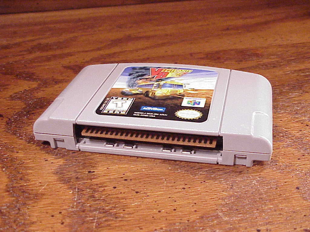 Nintendo 64 Vigilante 8 N64 Game Cartridge, cleaned and tested
