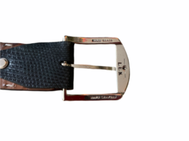 Lot 4 Martin Dingman Men Crocodile Hand Crafted USA Leather Belt 40 LEN Lizard image 5
