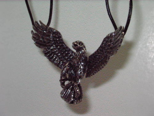 Gothic - Eagle - Wings - Pendant - Necklace - Chain