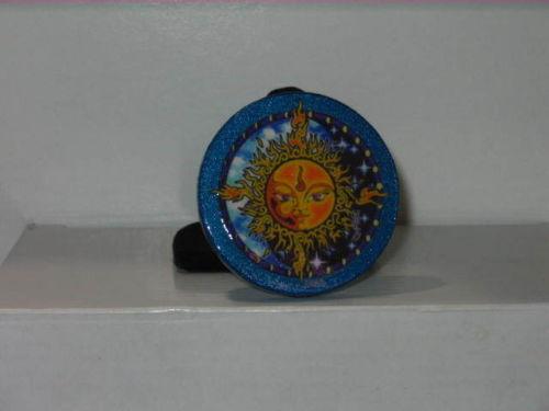 Tribal Sun Yin Yang Amulet Talisman - Wiccan - Pagan - Witch