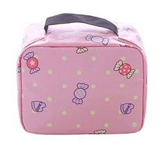 [Candy] Lovely Cosmetic Bag Toiletry Bag Makeup Organizer Makeup Case - £11.76 GBP