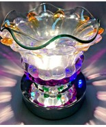 Electric Touch Fragrance Lamp/Oil Burner Wax Warmer/Night Light with LED... - $18.80