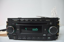 2004-2010 CHRYSLER DODGE RADIO CD PLAYR AUX IPOD (FOR PARTS) P05064171AF... - $34.64