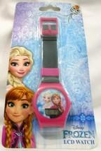 FrozenII Elsa Anna Pink LCD Watch Girls Wristwatch Kids Digital Watch-Ne... - $15.83