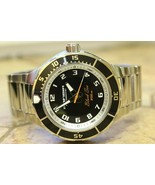 Vostok Amphibian 440793 Auto Black Sea Russian mens wrist watch - $195.02