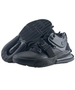 Nike Air Force 270 Size 9.5 Triple Black Mens Basketball Trainer Sneaker... - $159.95