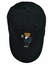 Polo Ralph Lauren Men's Martini Bear Logo Baseball Cap, Black, One Size,... - €68,51 EUR
