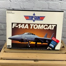 1987 VTG Testors F-14A Top Gun F14 Tomcat Tom Cruise Model Kit 1/72 NIB  - $34.99