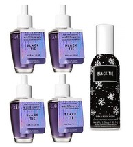 Bath & Body Works Black Tie Fragrance Set - Wallflower Refill Bulb & Roo... - $29.50
