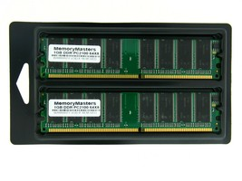 2GB (2X1GB) MEMORY FOR GATEWAY E-4000 DELUXE SPECIAL DELUXE