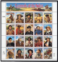 USA 1994 SC#2869 Legend of the West , Stamps MNH VF Fast free shipping - $15.35