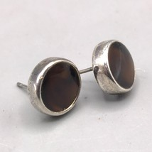 Vintage Anne Kleine Silver Tone Post Pierced Earrings - $9.89