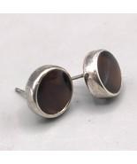 Vintage Anne Kleine Silver Tone Post Pierced Earrings - $9.89