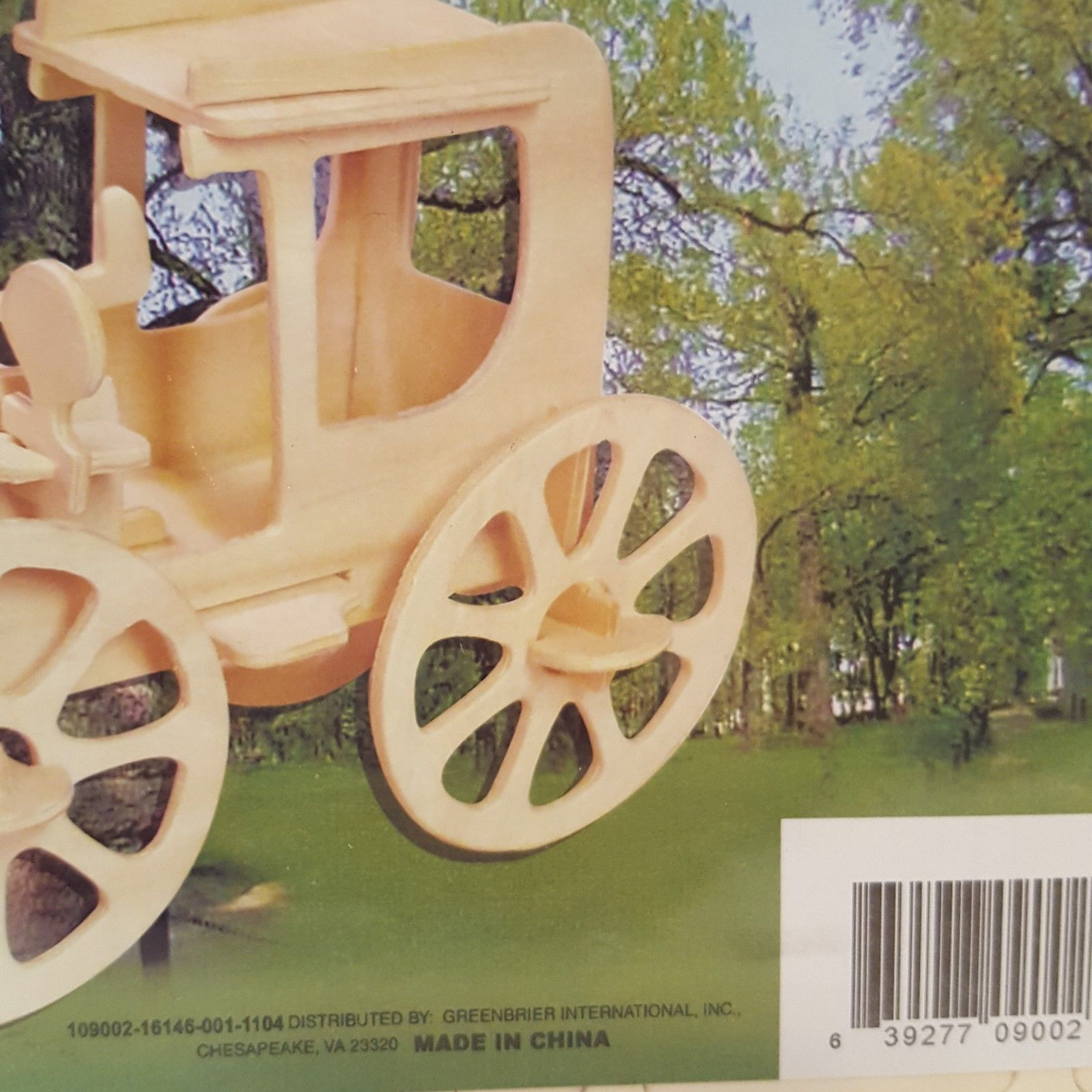 Puzzle 3D Wooden Jigsaw AutoMobile Car 2011 Sealed New
