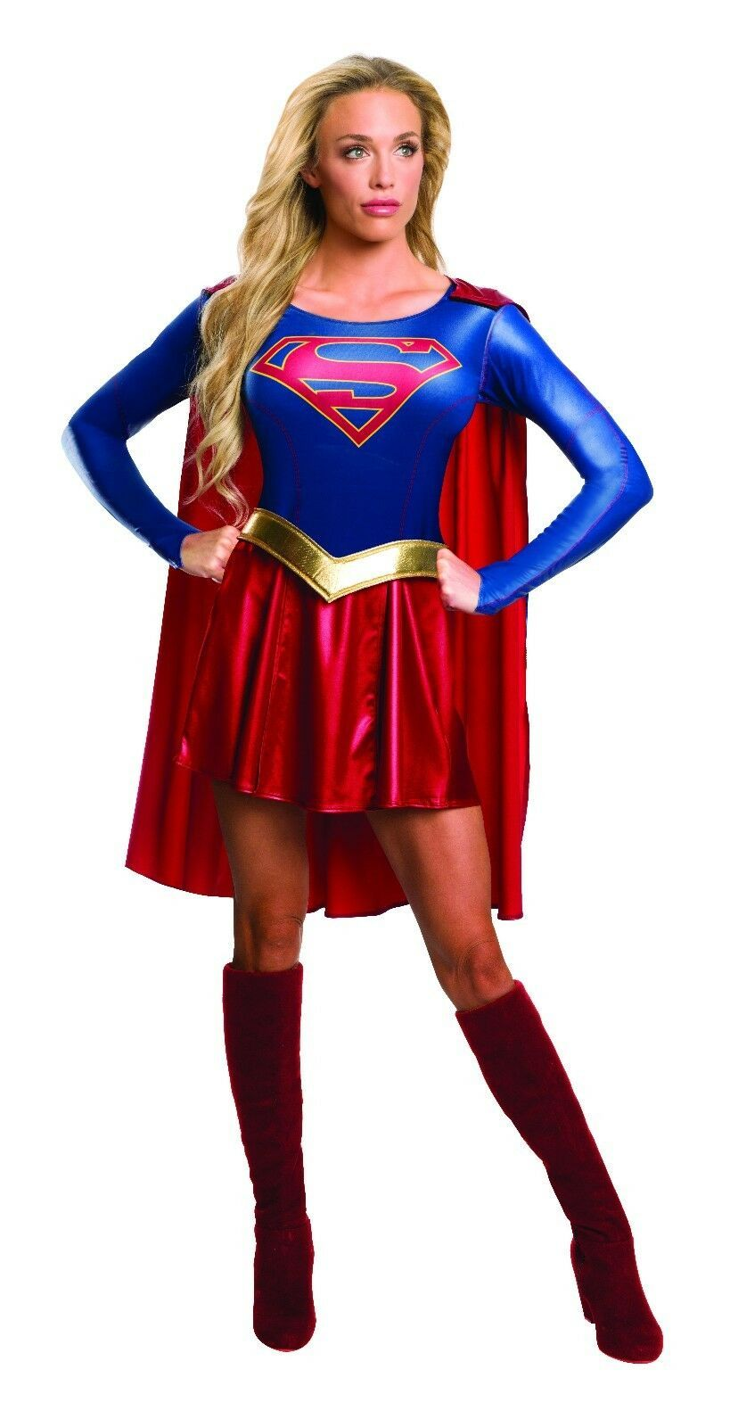 Primary image for Rubies Costume Adult Supergirl TV Series Womens DC Comic Outfit Halloween 620238