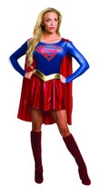 Rubies Costume Adult Supergirl TV Series Womens DC Comic Outfit Hallowee... - $59.76