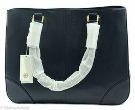 NWTTory Burch Robinson East/West Tote Handbag Bag, Blue image 5