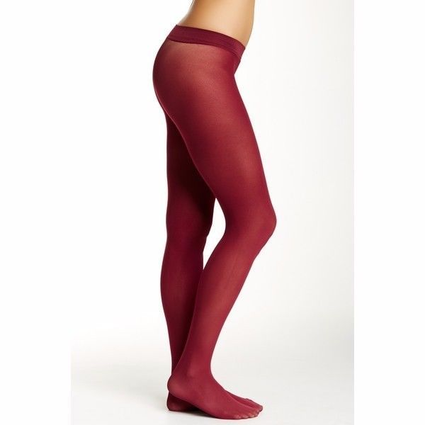 ee155827862bc HUE Hosiery Tights Sz 2 Solid Sangria Red and 50 similar items