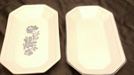 Pfaltzgraff Bread Serving Plate USA (Pair)  AA20-2131b Vintage image 2