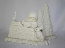 "Department 56 Snowbabies ""Where Did You Come From"" #68560 - $28.00"