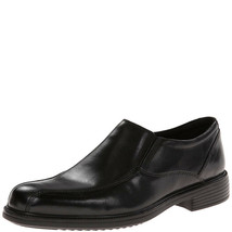 Bostonian Mens Bardwell Step Loafers Shoes Black 13 M MSRP 90 New - $65.33