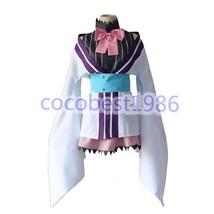 Anime Urara Meirocho yukimi koume Uniform Kimono Cosplay Costumes Set - $49.99