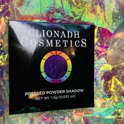 NWT NIB Clionadh Cosmetics JEWELLED MULTICHROME SINGLE PAN *ONE SHADE* Gothic