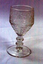 Paden City 1938 Spring Orchard Clear Etch 545 Cordial Glass - $12.47