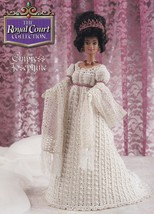 Empress Josephine, Annie's Royal Court Crochet Doll Clothes Pattern Booklet - $5.95