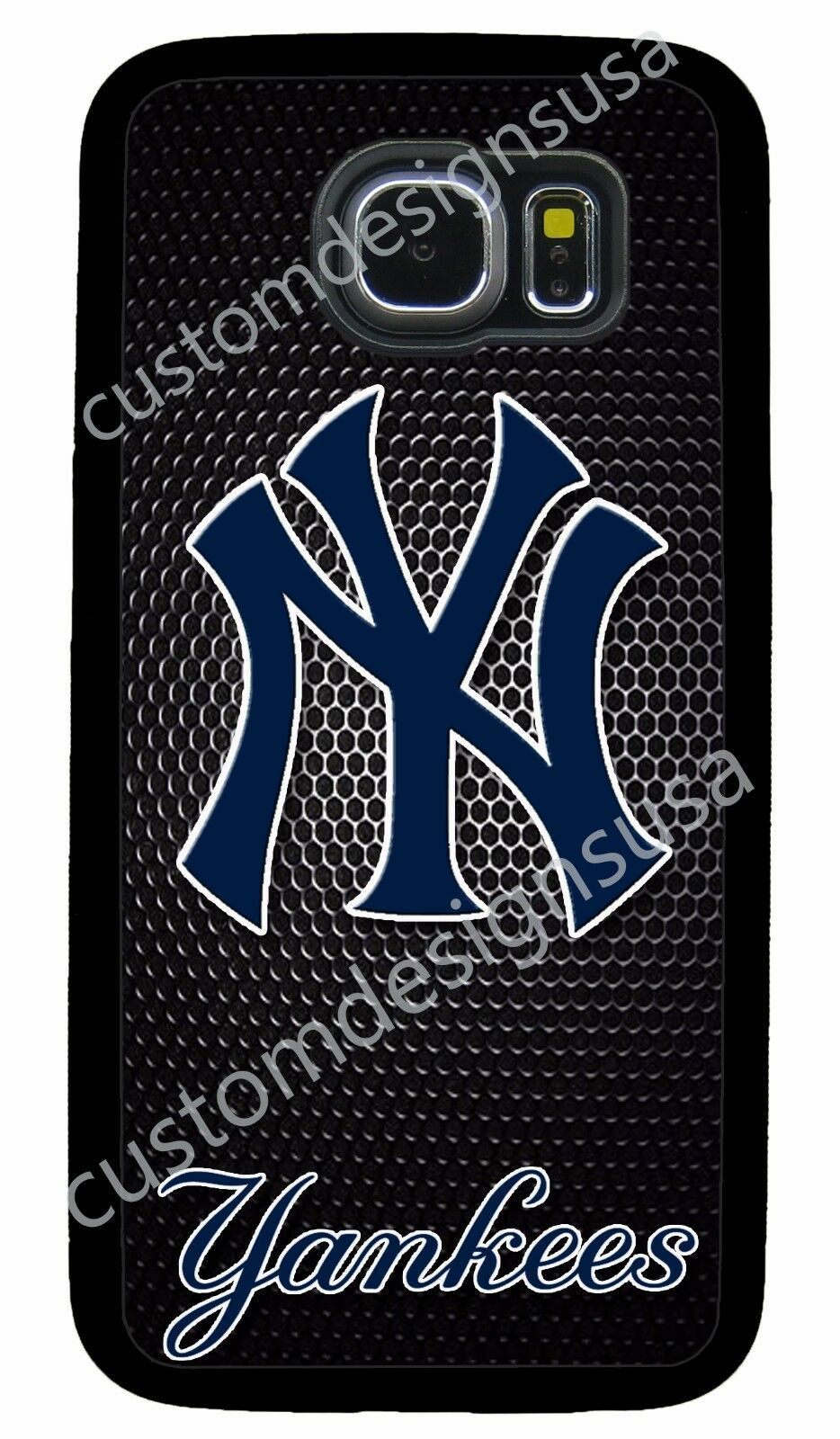 NEW YORK YANKEES MLB PHONE CASE FOR SAMSUNG NOTE & GALAXY S4 S5 S6 S7 S8 S9 S10
