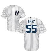 Men s new york yankees  55 sonny gray white cool base baseball jersey thumbtall