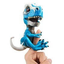 WowWee Untamed T-Rex by Fingerlings Ironjaw Blue -Interactive Collectibl... - $17.87