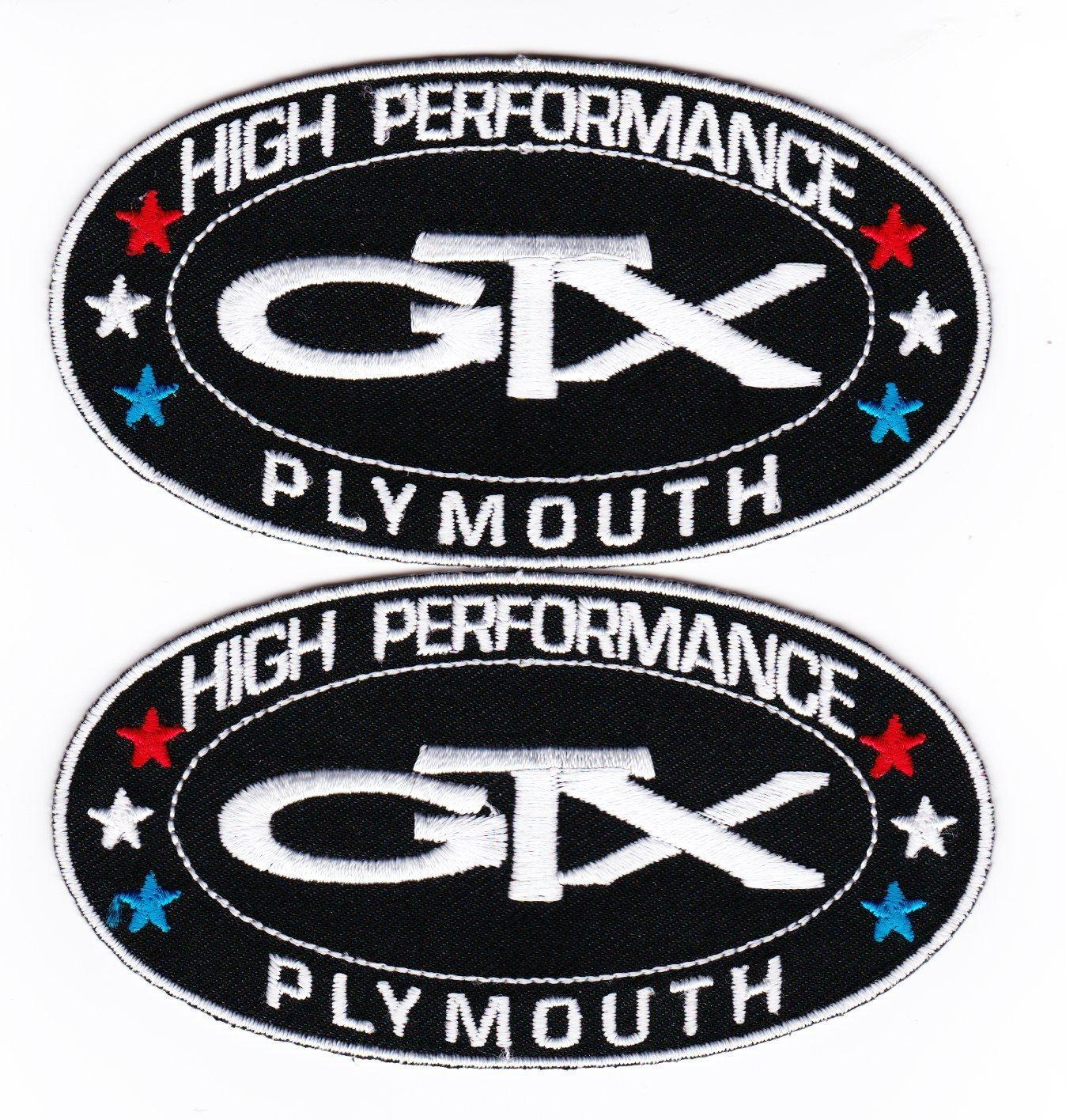 Plymouth Gtx Sewiron On Patch Badge Emblem And 50 Similar Items
