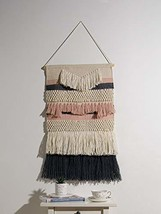 "Best Home Fashion Kona Woven Wall Hanging - Pink - 18"" W x 30"" H - $39.75"