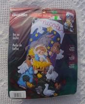Bucilla RARE Baby Jesus Christmas Stocking KIT  #84584 - 18in Felt Stocking Kit  - $59.99