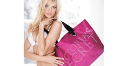 Victoria's Secret Pink Studs Silk Tote Bag - $29.99