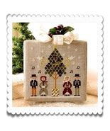 Caroling Quartet release #3 Hometown Holidays cross stitch chart Little ... - $5.40