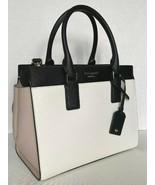 New Kate Spade New York Cameron Medium Satchel Leather White / Warm Beig... - $129.00