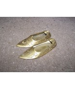 Brass shoes ashtray old Made in India antique L... - $30.00