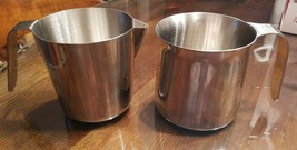 2 Breville Espresso 16oz Stainless Milk Frothing Jugs - $23.36