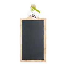 Trim Slate And Bamboo Cheeseboard by True - $25.99