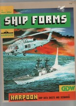 Ship Forms - Harpoon - GDW - SC - 1988 - Marc Miller - We Combine Shipping - $22.91