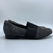 Clarks Artisan Unstructured Womens Gray  Suede Flat Shoes, Size 9 - $24.75