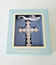 Wedgewood Figural Cross Ornament NEW IN BOX (s) Blue/White - $39.59
