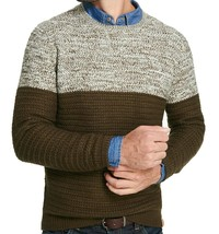 Weatherproof Vintage Mens Green Marled Pullover Sweater Top,  Medium, MS... - $30.00