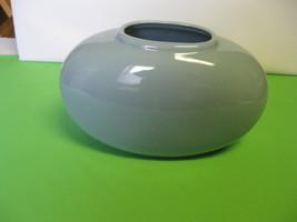 """Vintage Haeger Pottery 7 7/8"""" Blue Oblong Vase ... - $44.99"""