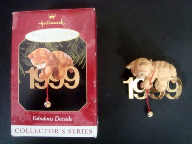 Primary image for Hallmark Keepsake Ornament, Fabulous Decade 1999